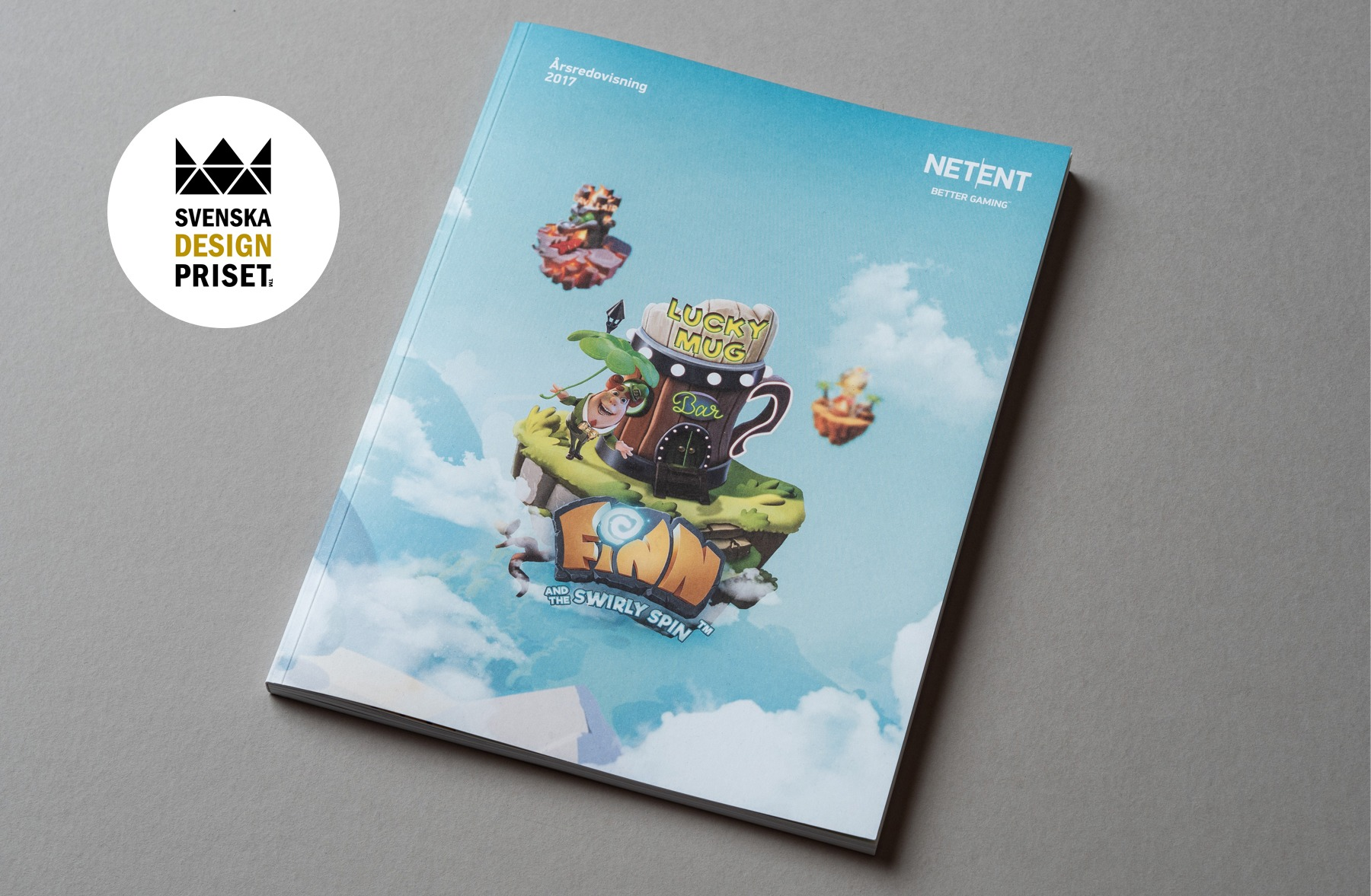 NetEnt årsredovisning nominerad till Svenska Designpriset