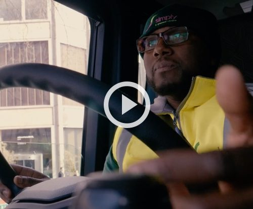 Recycling made beautiful – a mindful film about Scania's next gen cab.