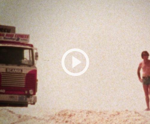 The Dubai Road Express – a social media blockbuster about Scania trucker legends.