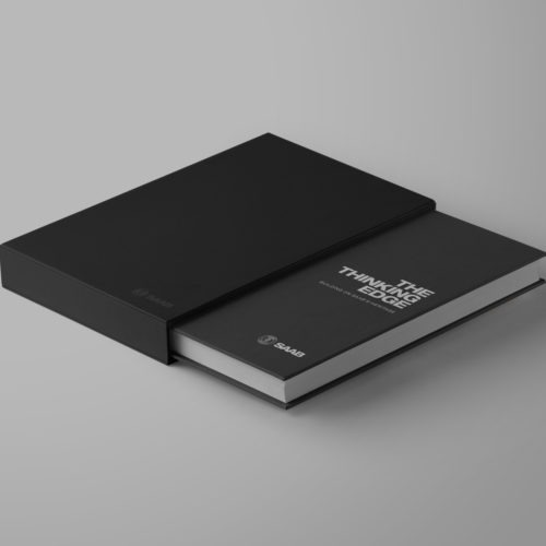 180 brand building pages – this exclusive jubilee book was distributed worldwide.