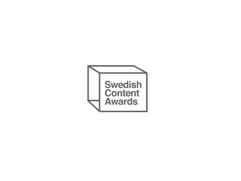 Appelberg är nominerad i Swedish Content Awards.