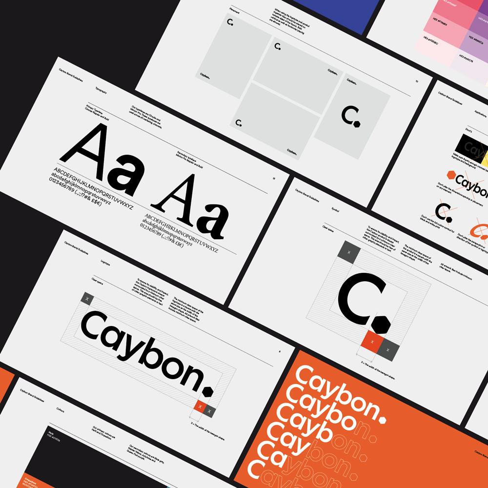 Graphic design case Caybon